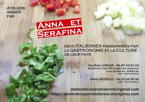 Des ateliers qui combinent apprentissage de la langue et for Apprendre la cuisine italienne