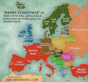 merry christmas in all languages