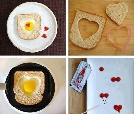 Un amour de toast